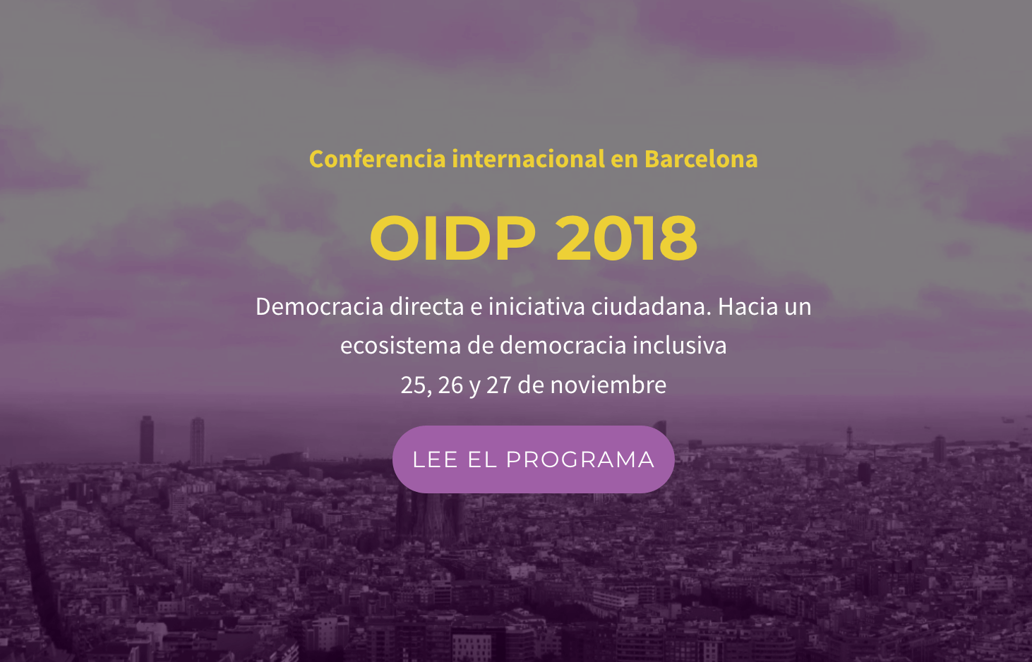 OIDP Conference 2018