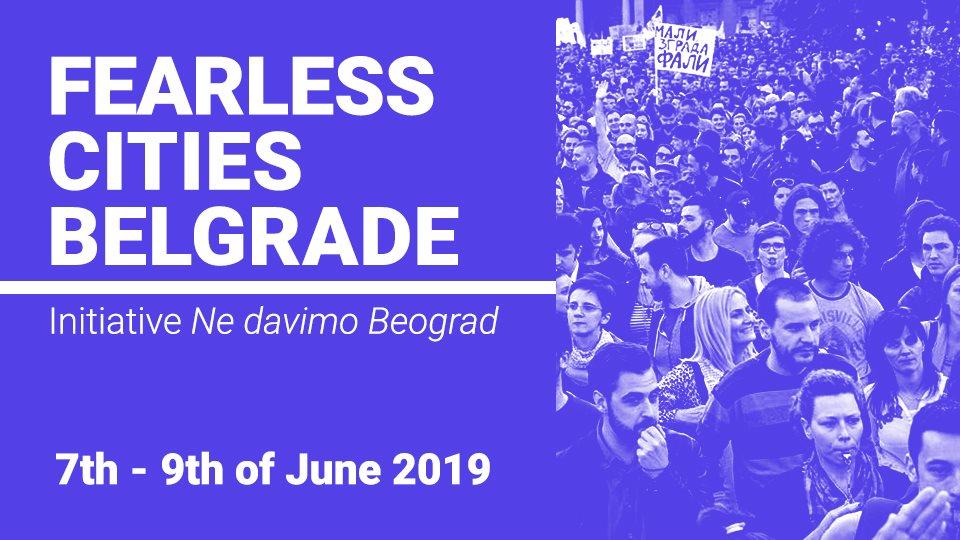 Fearless Cities Belgrade