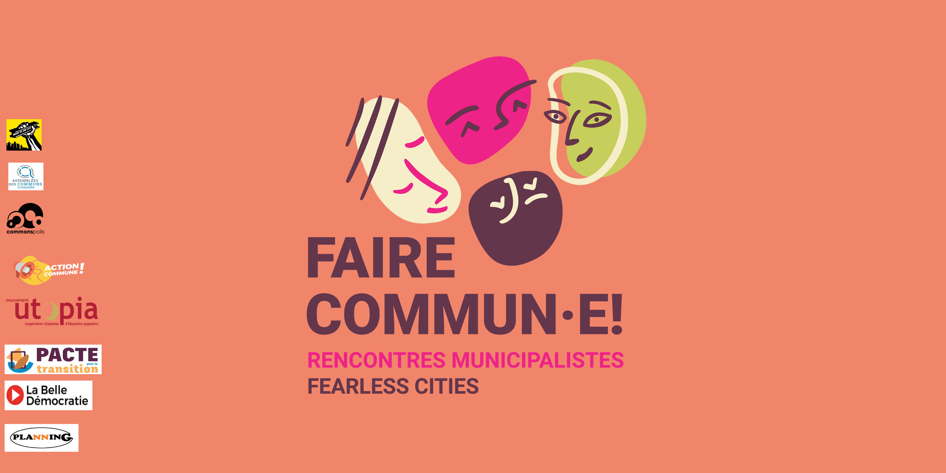 Ateliers listes participatives Spécial Faire commun.e - Fearless Cities