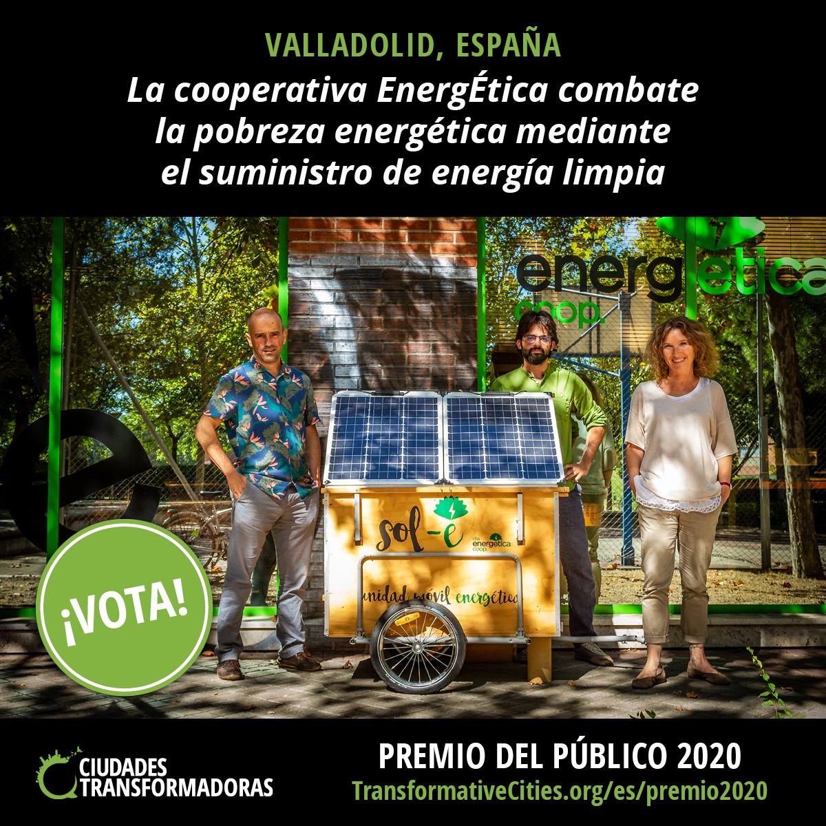 Premio del Público Ciudades Transformadoras 2020